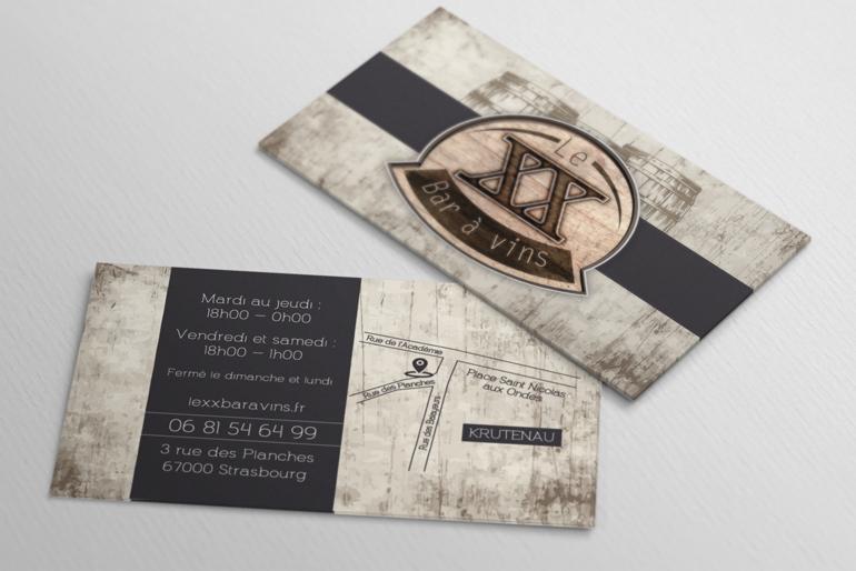 Nouvelle identité visuelle, carte des vins et ambiance olfactive pour un bar à vins