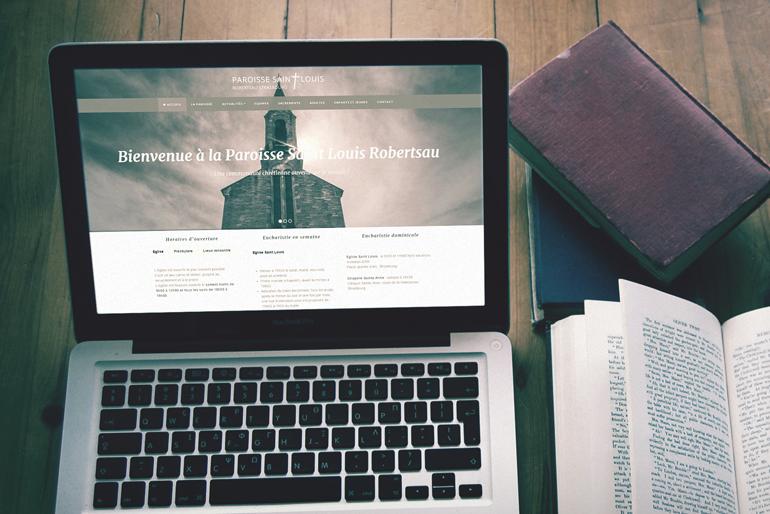 Site internet pour une paroisse