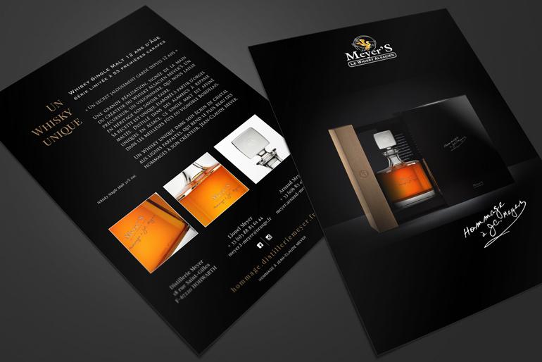 Site internet et teasing produit pour un nouveau whisky