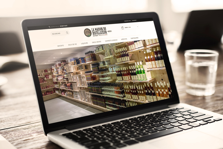 Conception de la boutique en ligne du musée