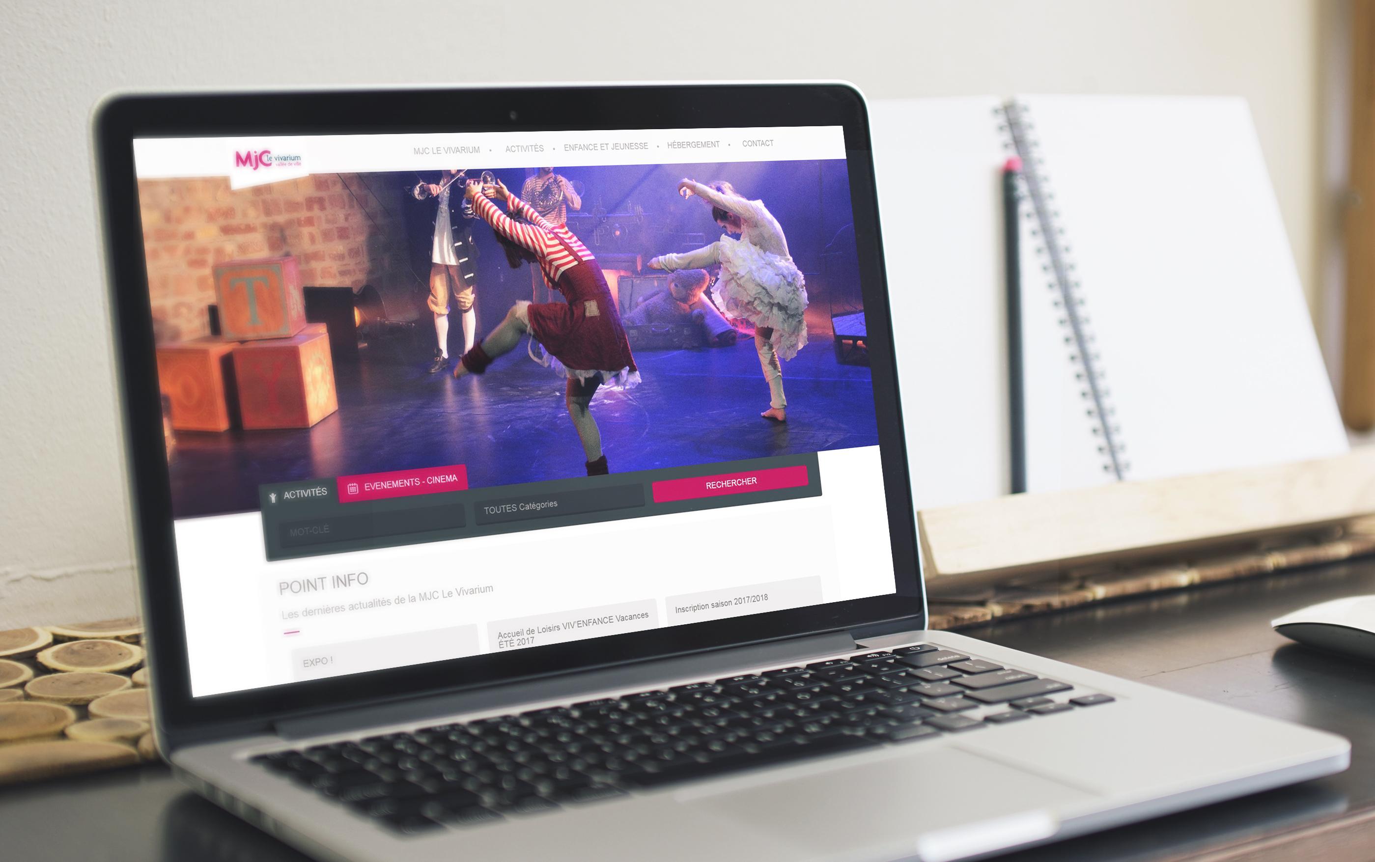 Site internet des activités et des services de l'association
