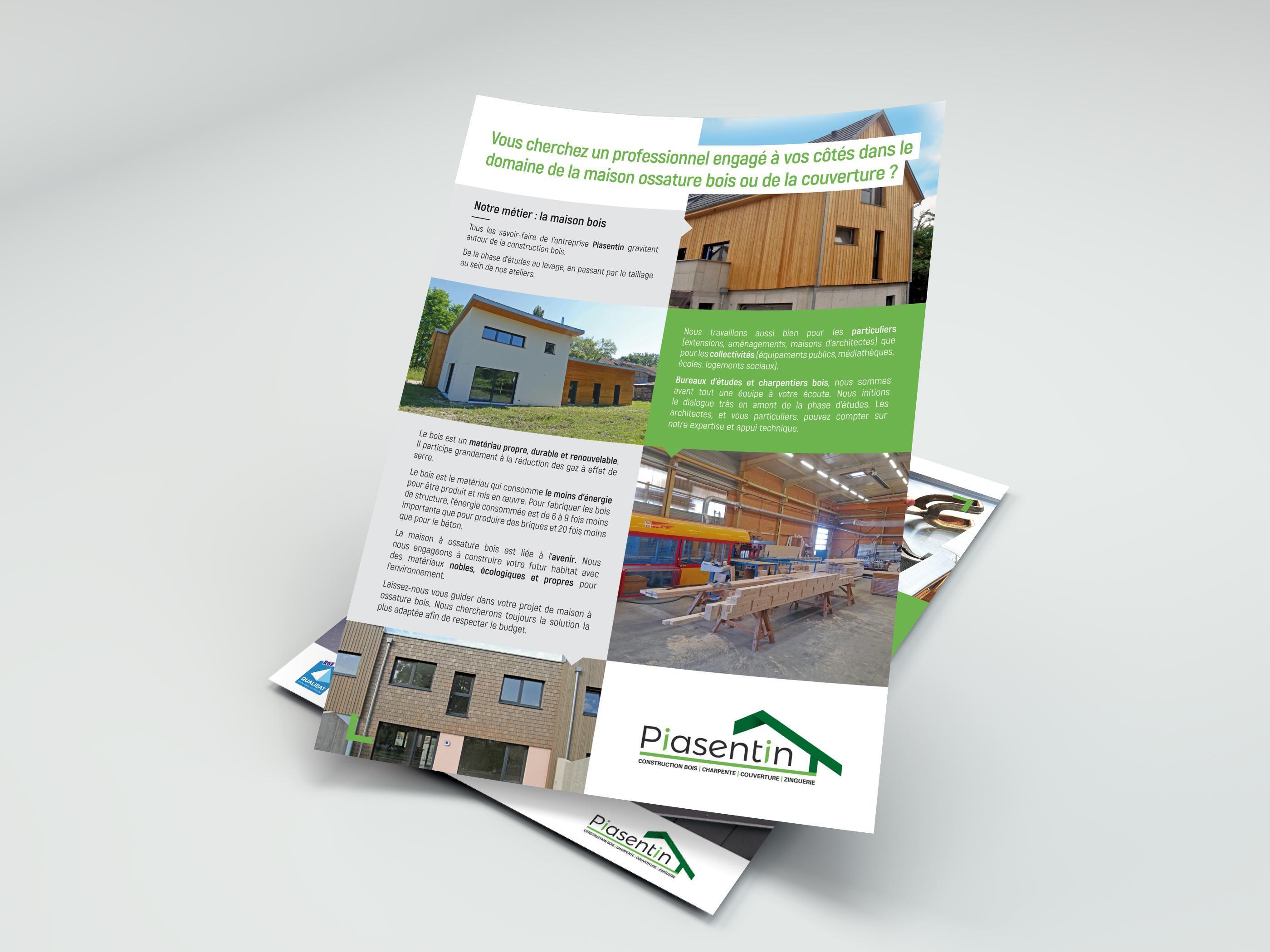 Stratégie et campagne de communication pour un constructeur bois