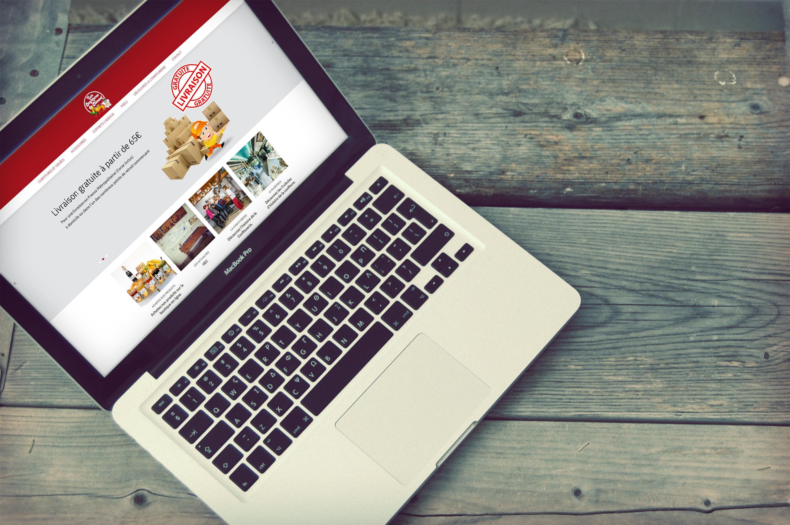 Refonte du site e-commerce de l'entreprise