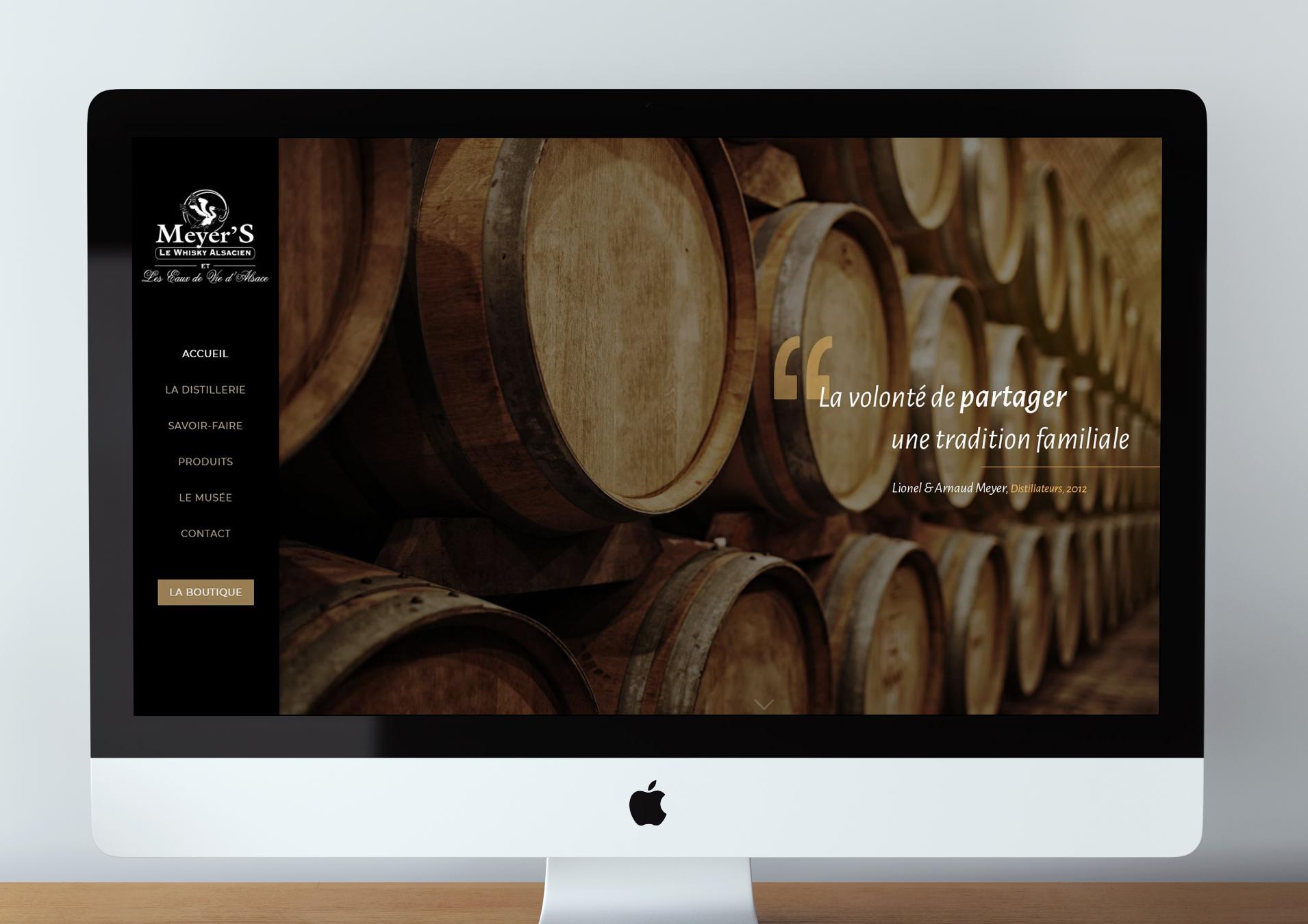 Réflexion et mise en oeuvre de la nouvelle stratégie digitale de la distillerie